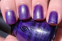 China Glaze - Grape Juice    #chinaglaze #purple