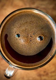 Coffee makes me smile!