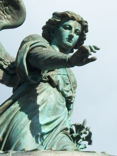 This is an up-close of Bethesda Fountain in central park, NYC. This is my favorite place in the whole world. Honestly
