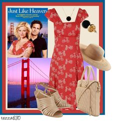 """Favorite Movies - Just Like Heaven"" by tezza630 on Polyvore  Contest Entry - 03.02.2013"