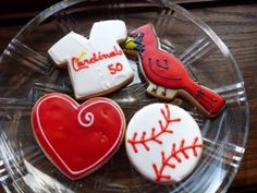 St Louis Cardinals Cupcakes Awesome Cakes Cookies Pinterest