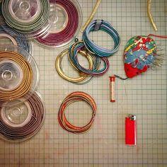 Making rope bracelets. #bracelet #beadaboo #handmade #etsy #etsylove #egst #mycreativelife