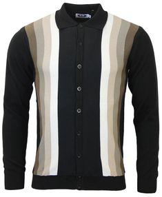 Blake MADCAP ENGLAND Mod Gradient Polo Cardigan BN d3019ff19