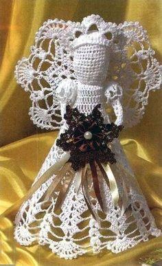Crochet Angels;;;free pattern