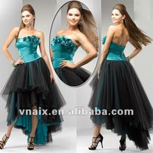 Black And Turquoise Wedding Dresses