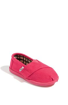 TOMS 'Classic - Tiny' Canvas Slip-On (Baby, Walker & Toddler) | Nordstrom $28.95 Sizee 4M