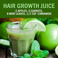 Hair growth juice