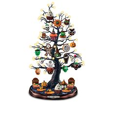 Trick Or Treat Halloween Tabletop Tree Collection