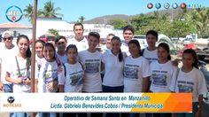Operativo de Autoridades Semana Santa en  Manzanillo, Gabriela Benavides...