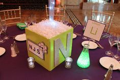 Science Themed Photo Cube Science Themed Photo Cube Centerpiece with Sparkly Initial & Custom Logo Bar Mitzvah Decorations, Computer Theme, Mad Scientist Party, 30th Birthday Parties, 8th Birthday, Photo Cubes, Science Party, Party Centerpieces, Clipart