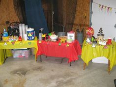 Izzy's Mad Science Party