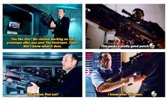Coulson reunited with a few old friends in the Agents of SHIELD season finale.