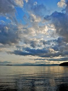 North Beach clouds, Lake Champlain, Vermont