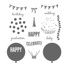 Celebrate Today Photopolymer Stamp Set by Stampin' Up!