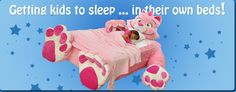 Is this not too cute???  Think Madison would stay in her bed with this??