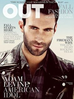 Adam Levine for Out, September 2011