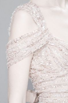 Elie Saab dress shoulder