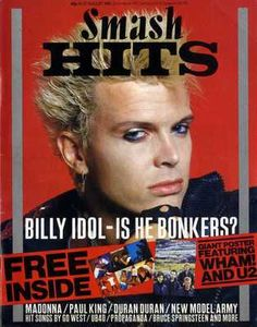 This is a site that has issues of Smash Hits so people can read the magazines. Starting from 1978 and ending in 1989 I will be putting up each issue for all the world to see. Billy Ocean, Thompson Twins, Frankie Goes To Hollywood, Tears For Fears, Cover Band, Billy Idol, Simple Minds, Music Magazines, 80s Music