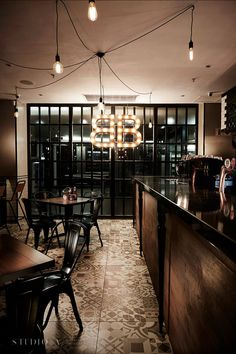 Studio A Signature Projects / Johannesburg, South Africa. Brothers Restaurant, Good Burger, Best Interior, Restaurant Design, South Africa, Brooklyn, Studio, Table, Projects