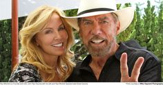 Paul Mitchell Co-Founder and CEO John Paul DeJoria with his wife and Paul Mitchell Spokesmodel Eloise DeJoria