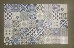 Vinylmatte Eclectic blau von Beija Flor 4