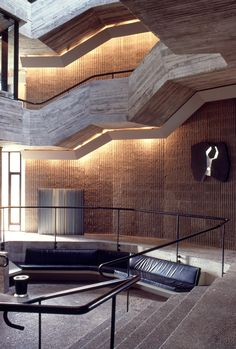 Charles H. Dana - Creative Arts Center - Colgate University - Hamilton, New York 1966 Paul Rudolph