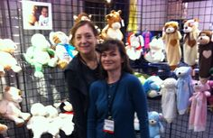 Donna, Doris and some Embroider Buddies at ISS Atlantic City 2014