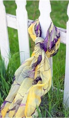 ♥ Lavender / Purple and Yellow