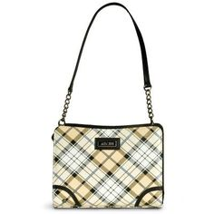 Paige Cream and mellow yellow colours add a light and modern twist to the classic plaid design of the Paige Mini Shell. It's a Mini that oozes class and sophistication - just like you!