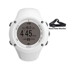 Suunto Ambit 2 R White with Heart Rate Monitor is a GPS watch optimized for perfect running experience.