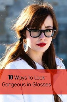 Tips to looking fab in your frames... Please ignore the pigtails!