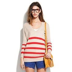 hillstripe ex-boyfriend sweater by lela