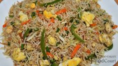 Egg Fried Rice Recipe/ Restaurant Style Egg Fried Rice - YouTube Maggi Recipes, Fried Rice With Egg, Cooking Basmati Rice, Rice Ingredients, Salty Foods, Rice Recipes, Cabbage, Beans, Food And Drink