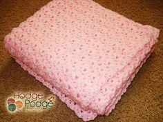 Baby's Best Bumpy Blanket Crochet Pattern