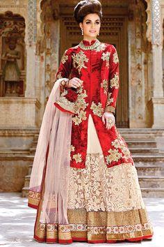 Wedding Bridal Embroidered Lehenga Choli