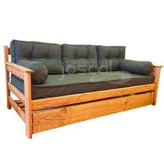 Diván Cama Sillón 2 Colchones Kit De 5 Almohadones Y Funda - $ 6.999,99 en Mercado Libre Sleeper Couch, Daybed, House Design, Kit, Furniture, Home Decor, Bohemian Furniture, Purchase Order, Futons