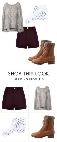 """""""Nice"""" by blessedtdlee3 ❤ liked on Polyvore featuring moda, River Island, Fevrie y Charlotte Russe"""