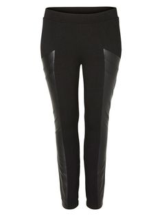 PU- LEGGINGS, Black