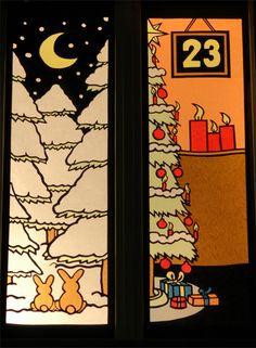 Suche on pinterest - Adventsfenster gestalten ideen ...