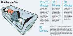 Know How Long to Nap