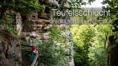Ausflüge in Rheinland-Pfalz: Abenteuer Teufelsschlucht  #Ausflugsziele #Ausflugsziele in Rheinland-Pfalz #Deutschland #Eifel #Europa #Reisen mit Kindern #Wandern mit Kindern