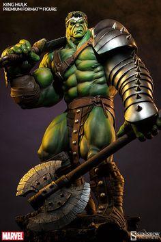 King Hulk collectible: