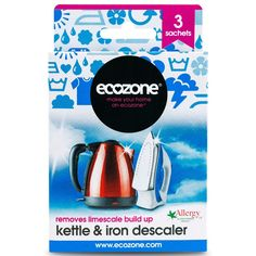 Ecozone Kettle & Iron Descaler - 3 Applications - Ecozone