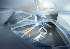 It's official. I'm doing a curvy project. My FIRST curvy precedent. Get ready for precedent research out the wazoo (that's not how you spell that...). Abu Dhabi Performing Arts Centre by Zaha Hadid Architects