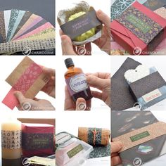HANJI, Paper Goods, Paper Labels, Paper Tags for Gift Wrapping, YOUR CHOICE