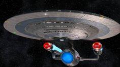 The Ambassador Class USS Enterprise NCC 1701 C which appeared in Star Trek The Next Generation. Star Trek Vi, Star Wars, Star Trek Ships, Science Fiction, Star Trek Wallpaper, Hd Wallpaper, Uss Enterprise Ncc 1701, Starfleet Ships, Star Trek Starships
