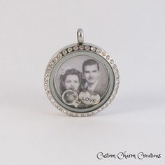 Customized Photo Plate for 30 mm Glass Lockets using Your Picture