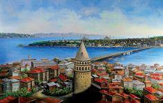 İstanbul Tabloları İST 052