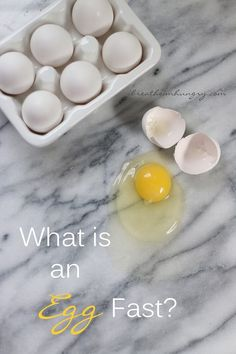 What is an Egg Fast? – I Breathe… I'm Hungry… What is an Egg Fast? Learn how an egg fast can help you break through a plateau and get you back on track with losing weight steadily again! Keto, Atkins, and LCHF friendly! What Is An Egg, Dieta Atkins, Egg And Grapefruit Diet, Slim Down Fast, Keto Egg Fast, Boiled Egg Diet Plan, Lchf, Banting, Healthy Eating Habits