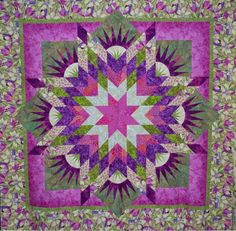 Summer Solstice, Quiltworx.com, Made by Connie Lange